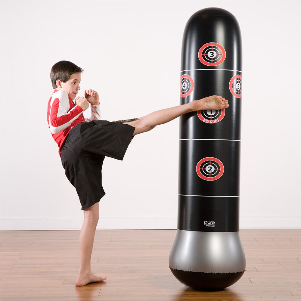 Mma Kick Boxing Karate Training Target Punching Bag 5 Ft Stand Up Floor
