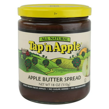 (12 Pack) Tap 'N Apple Apple Butter Spread 18 oz
