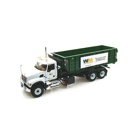 Mack Granite Waste Management Roll Off Refuse Garbage Truck 1/34 For Adult Collectors for Display Purpose by First Gear
