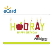 Applebee's Hooray $15 Gift Card (Email Delivery)
