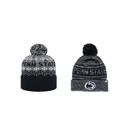 Penn State Nittany Lions Advisory And Sockit To Me Stocking Stretch Knit  Sock Hat Cap Pom b782f488c51