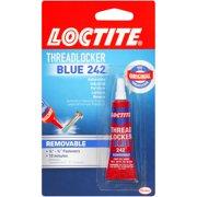 Loctite Threadlocker Blue 242, Nut & Bolt Locker, .20 fl. oz.