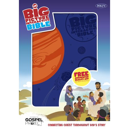 The NKJV Big Picture Interactive Bible, Creation LeatherTouch : Connecting Christ Throughout God's Story