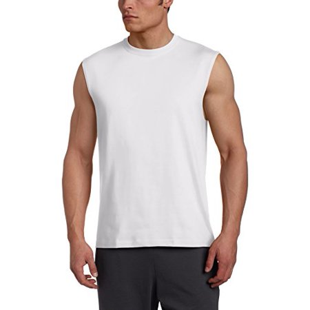 15bbd667d509f Russell Athletic - Russell Athletic Men s Basic Cotton Muscle T-Shirt -  Walmart.com