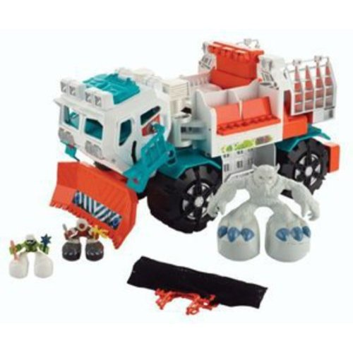 Matchbox Big Boots Arctic Yeti Catcher Vehicle