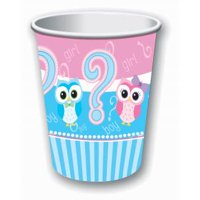 Gender Reveal 8 per Pack 9oz Beverage Cups - Party Supplies - 1 pack