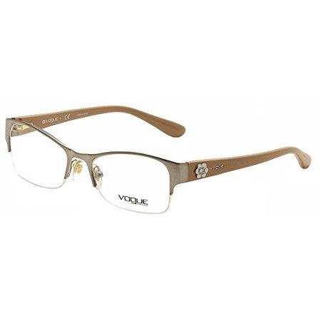 Vogue VO 3974 Women's Eyeglasses Brushed Gunmetal (Vogue Eyewear For Women)