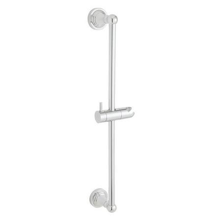 (Speakman Alexandria Adjustable Slide Bar for Handheld Shower, Polished Chrome)