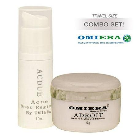 Acdue Acne Treatment Cream + Adroit Hair Inhibitor Cream 0.3+.0.2 fl.