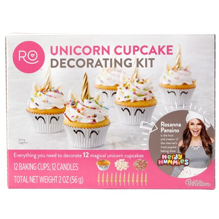 Easy Halloween Cupcake Decorating Idea (Rosanna Pansino by Wilton Unicorn Cupcake Decorating)