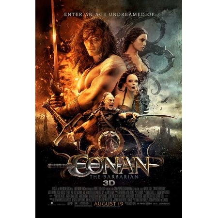 Conan the Barbarian (2011) 27x40 Movie Poster