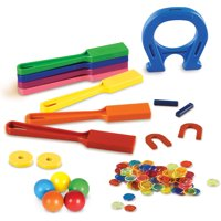 Learning Resources Super Magnet Lab Kit, 119-Piece Kit, Ages 5+