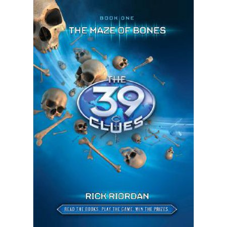 The 39 Clues #1: The Maze of Bones [With 6 Game Cards] (Hardcover) - Halloween Maze Game