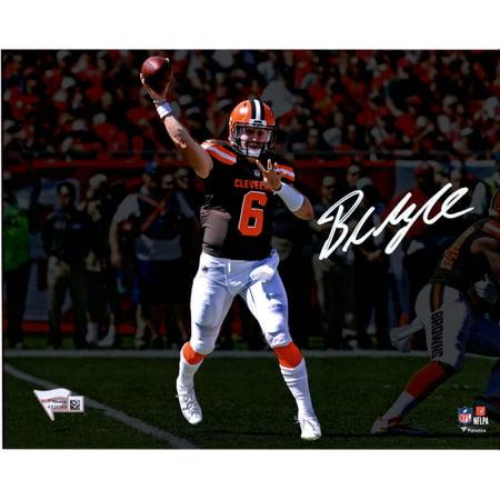 innovative design dd9b0 41498 Baker Mayfield Cleveland Browns Autographed 8