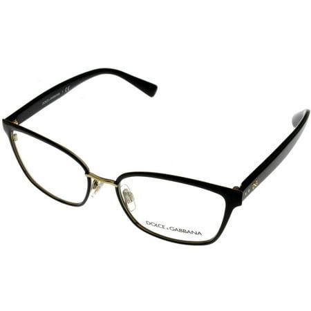 Dolce & Gabbana Eyeglasses Frame Women Black Cats Eye DG1282 (Dolce And Gabbana Eye Frames)