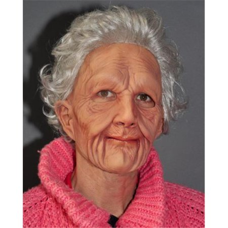 Old Lady Mask (Supersoft Old Woman Mask)