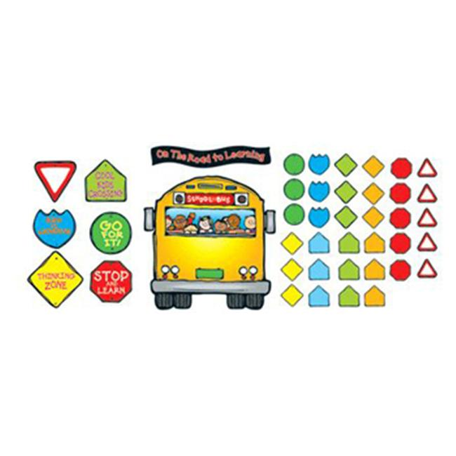 Carson Dellosa DJ-610040 School Bus Bulletin Board Set