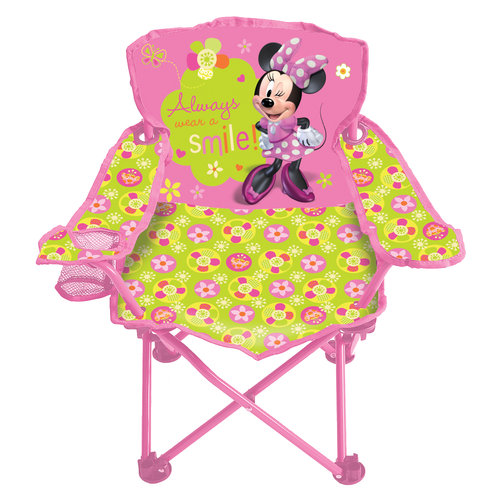 Disney Minnie Mouse Bow-Tique Fold N' Go Chair