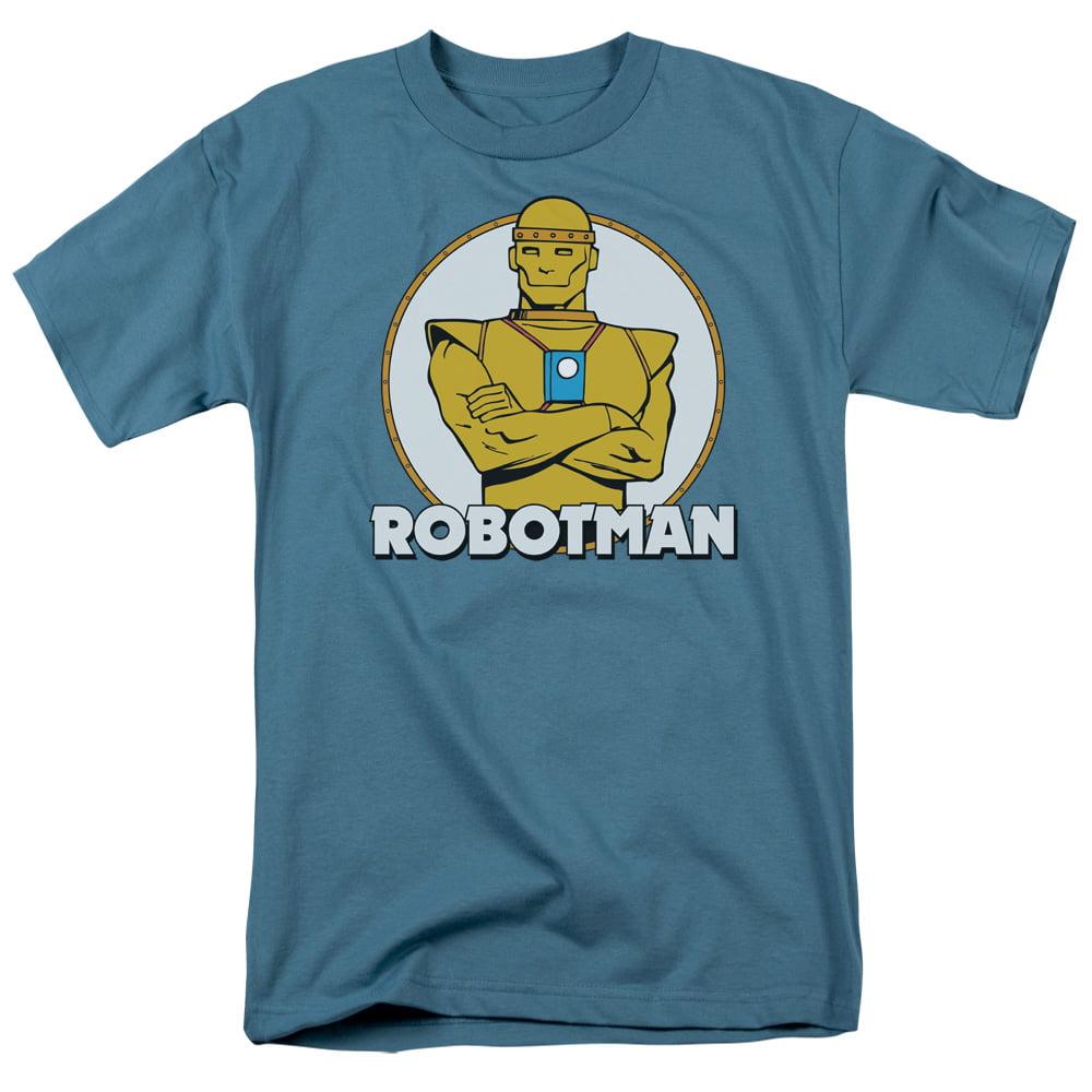 Dc/Robotman   S/S Adult 18/1   Slate     Dco325