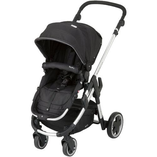 Kiddy 56-120-BG-077 - Click n Move 3 Stroller - Racing Black