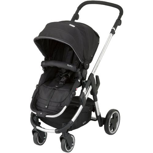 Kiddy 56-120-BG-077 - Click n Move 3 Stroller - Racing Black
