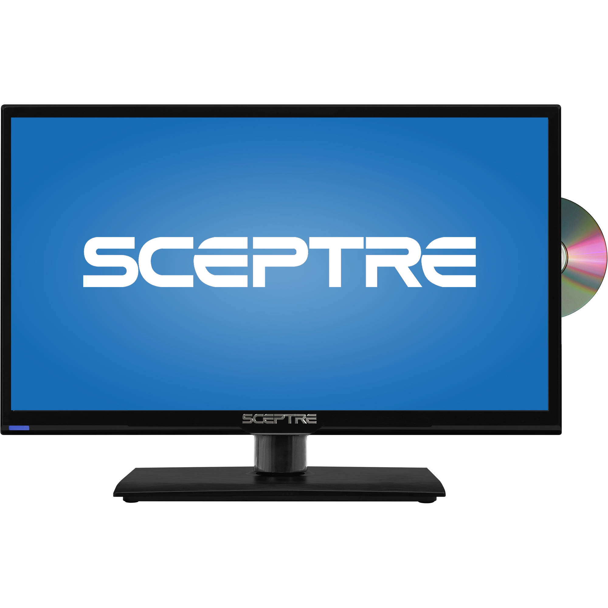"Sceptre E205BD-S 20"" 720p 60Hz Class LED HDTV with Built-in DVD Player"