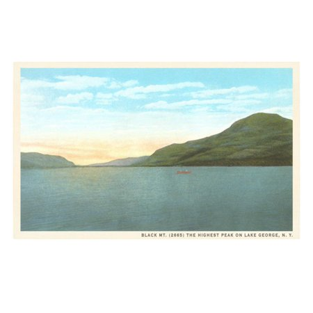 Black Mountain, Lake George, New York Print Wall (Lake George Mountain)