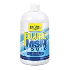 Natural Balance Pure MSM Liquid 700mg, 16 Oz