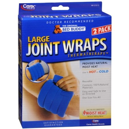 Bed Buddy Large Joint Wraps 2 Each (Pack of 3) Bed Buddy Body Wrap