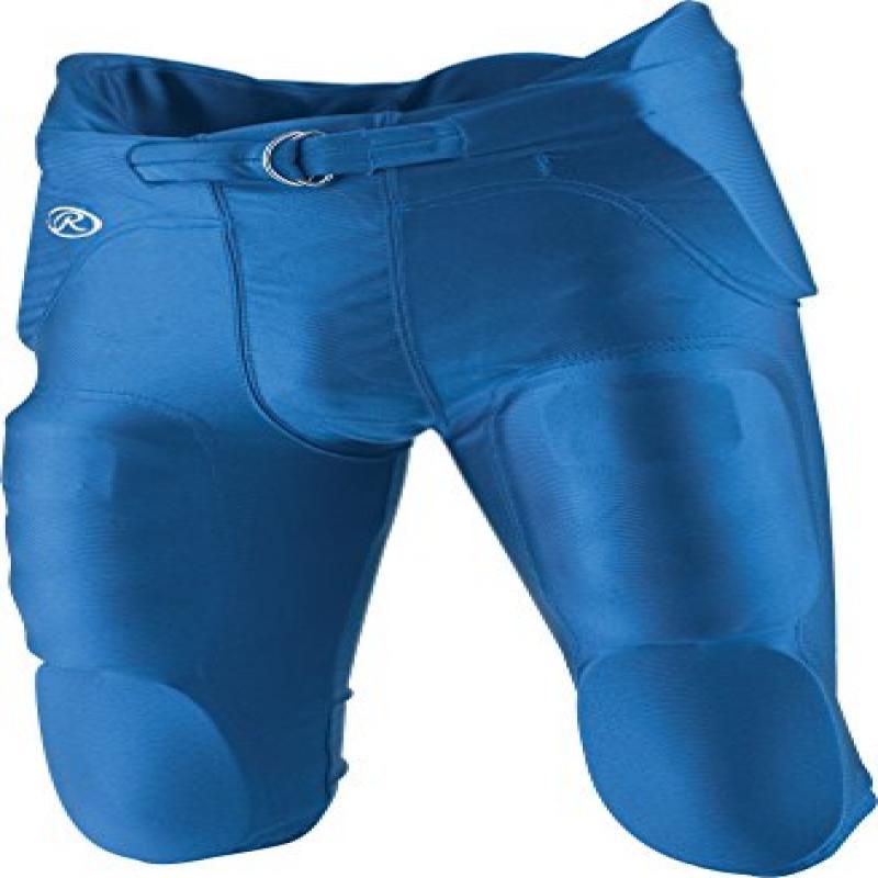 Rawlings Youth Integrated Football Pants, Royal, XX-Large