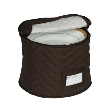 - 9 Chocolate Microfiber Chest  For Soup Bowls