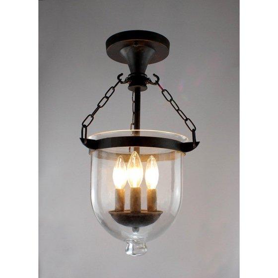 Arabella antique copper bell jar glass lantern chandelier walmart arabella antique copper bell jar glass lantern chandelier aloadofball Image collections