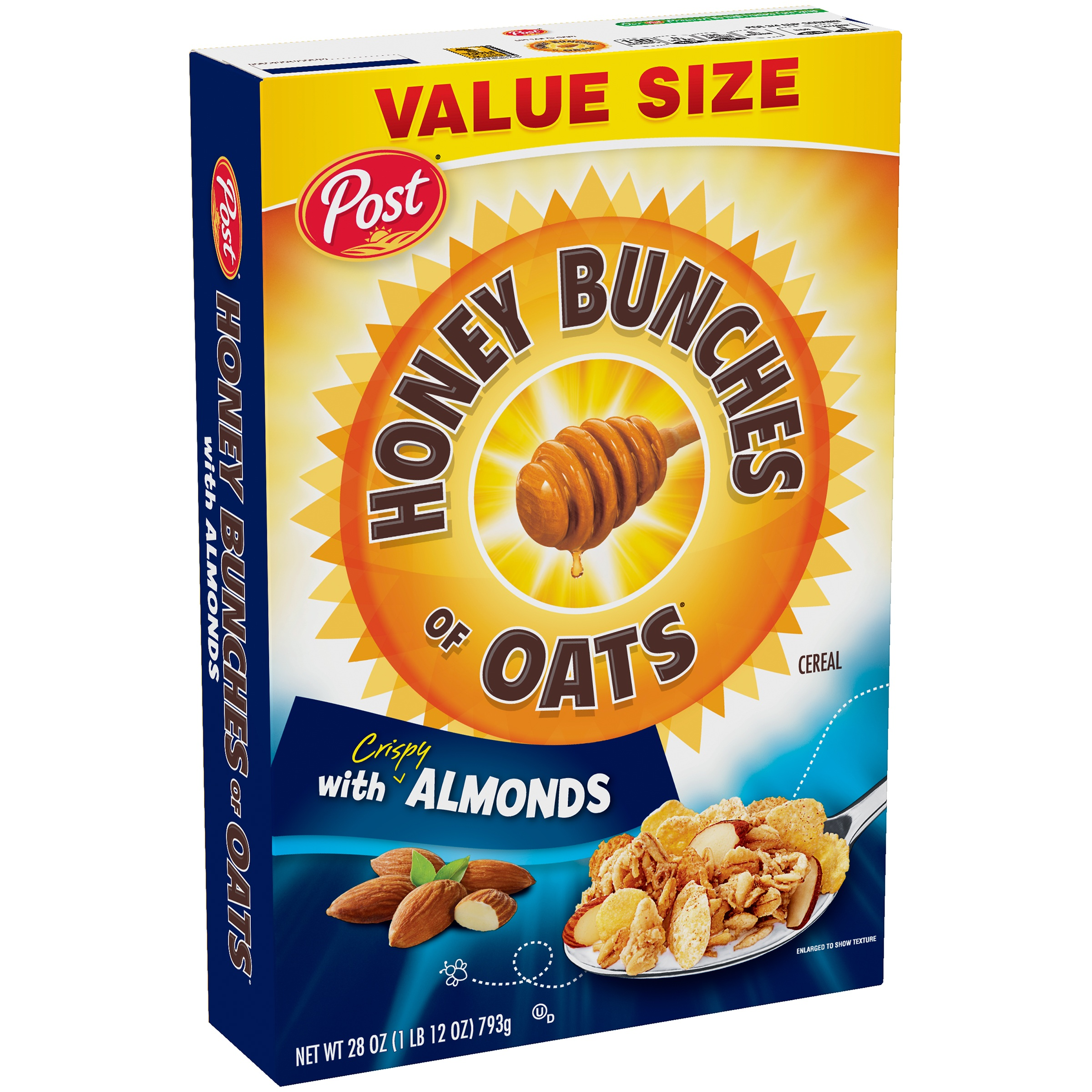 Post® Honey Bunches Of Oats With Crispy Almonds Cereal 28