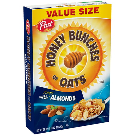Post® Honey Bunches of Oats with Crispy Almonds Cereal 28 oz.