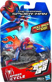 Spider-Man Zoom N Go Spider Cycle Vehicle by