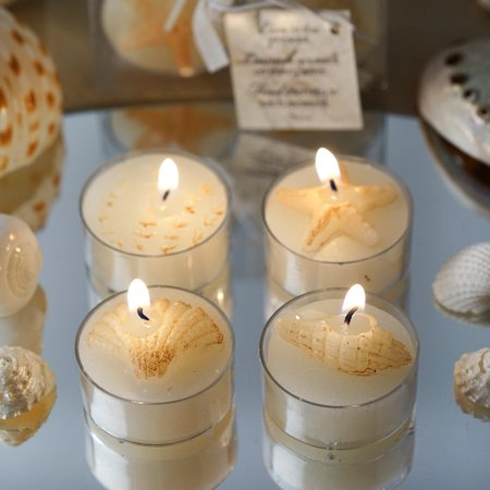 Efavormart Caribbean Island Beach Candles Favors - WHOLESALE 100 Candles total!!!