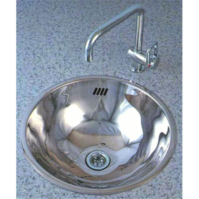 Cantrio Koncepts MS-002 Stainless Steel Drop In Basin