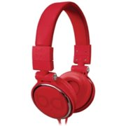 Bell'o Over-the-head Headphones - Stereo - Red - Mini-phone - Wired - Gold Plated - Over-the-head - Binaural - Circumaural (bdh806rd)
