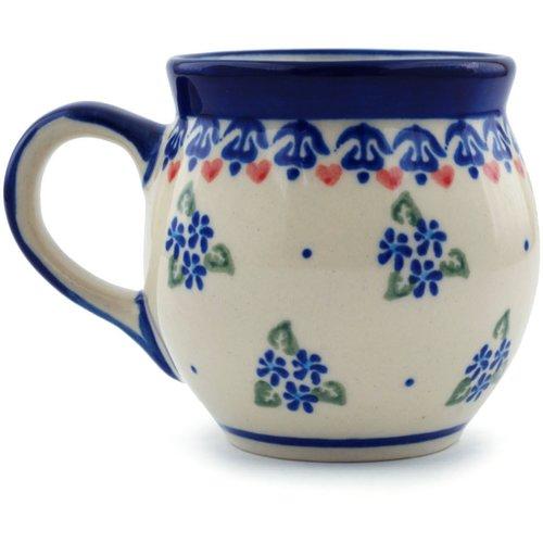 Polmedia Daisy Dollops 7 oz. Bubble Coffee Mug