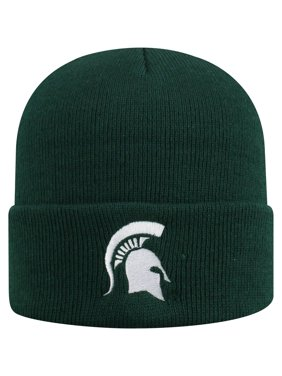 Men's Russell Athletic Green Michigan State Spartans Team Cuffed Knit Hat - OSFA