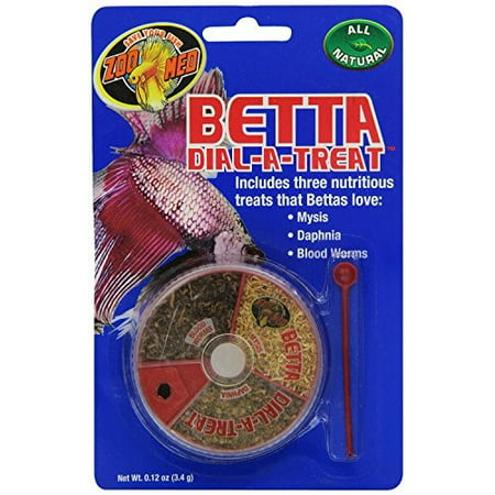 Zoo Med Betta Dial-A-Treat Betta Fish Treats, .12 Oz