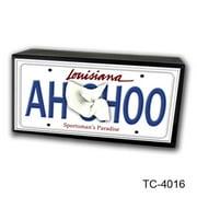 Caravelle Designs TC-4016 Louisiana AHCHOO Tissue Box Cover