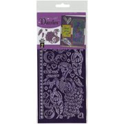 Dazzles Stickers-Peacocks-Purple