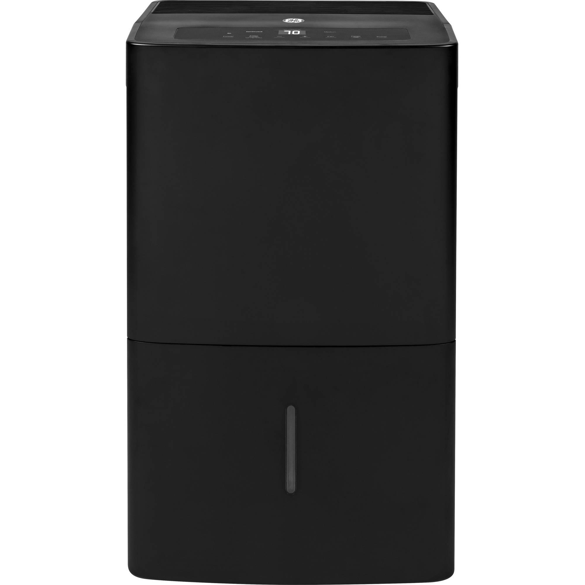 GE Appliances 70-Pint Energy Star Dehumidifier, ADEW70LW, Black