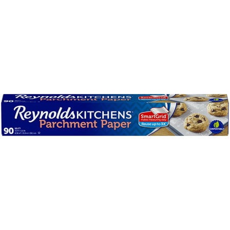 Reynolds Kitchens Parchment Paper with SmartGrid, 72x15, 90 Square Feet
