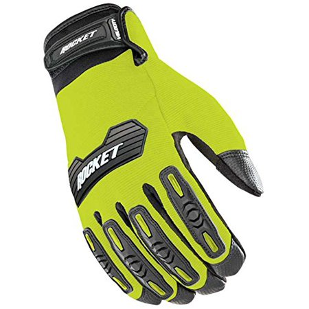 Velocity 2.0 Motorcycle Glove Hi-Viz Yellow & Black X-Large, PS Tube Store Product Premium HS Black Insert 2Pack Inner MPR PS4 PS3 Hypoallergenic Special Omni Pack Bike.., By Joe Rocket (Console Tube)