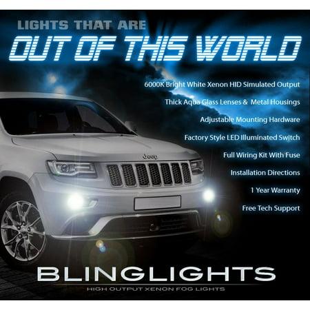 2014 2015 2016 2017 2018 Jeep Grand Cherokee Xenon Fog Lights
