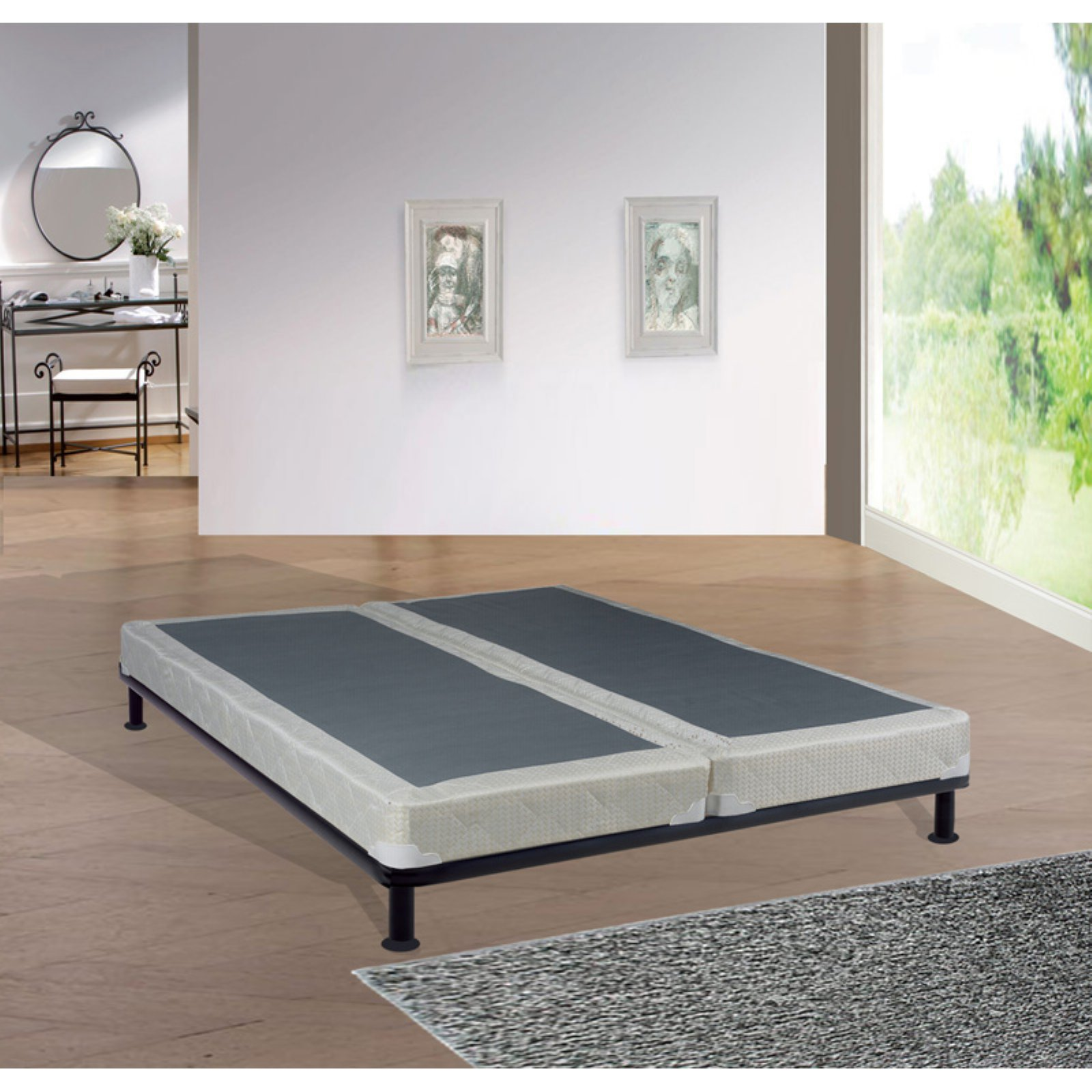 Continental Sleep 4 in. Orthopedic Back Support Split Box Spring