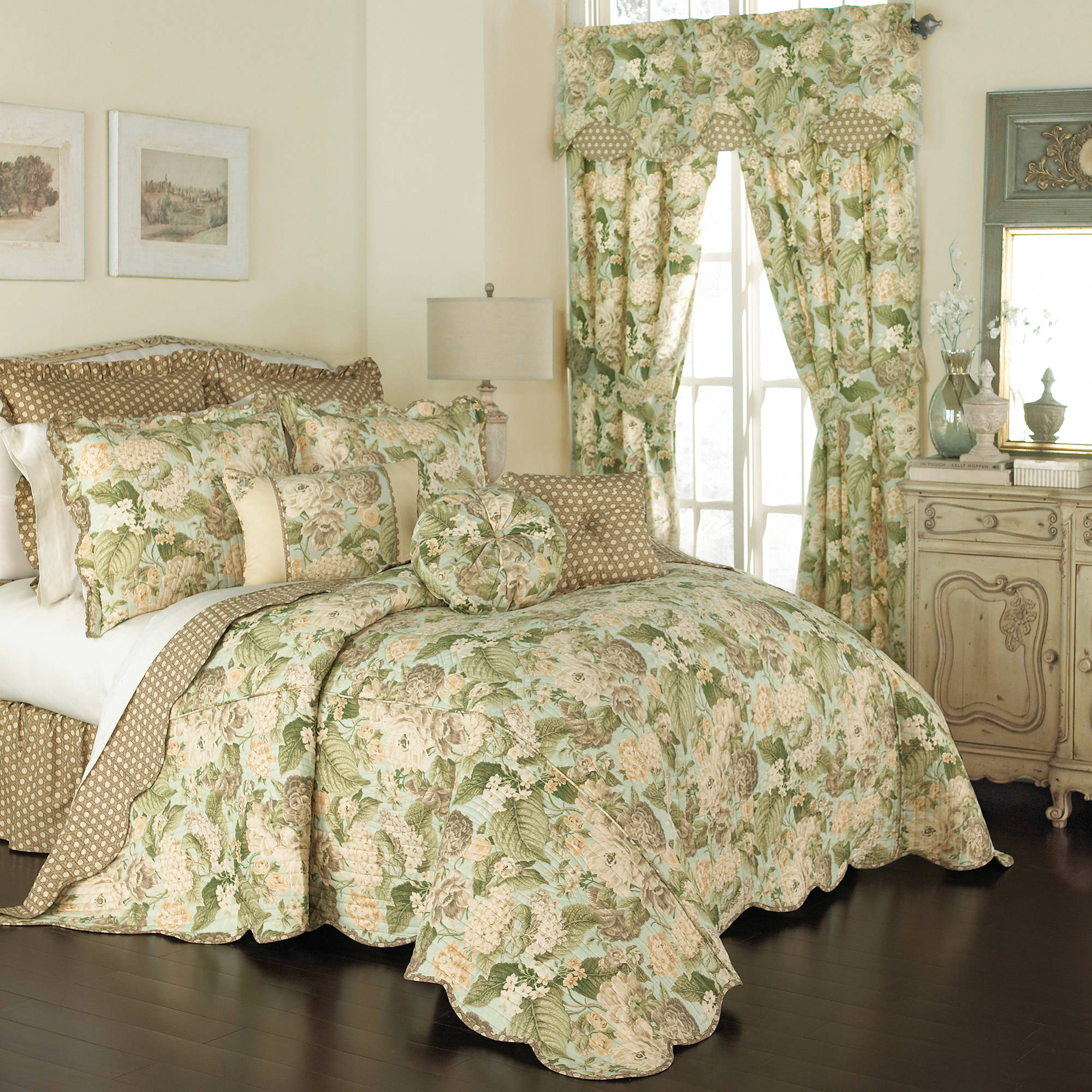 Waverly Garden Glory 3-Piece Bedspread Collection