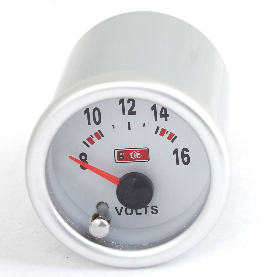 "2"" Mounting Dia 0 to 16 Volts Round Volt Pointer Gauge Meter for Auto"